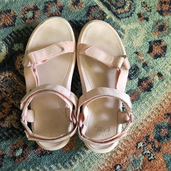Teva Shoes   S Light Pink Size 7   Poshmark